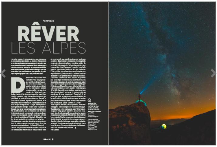 photo vercors laureate concours Revez les Alpes Glenat