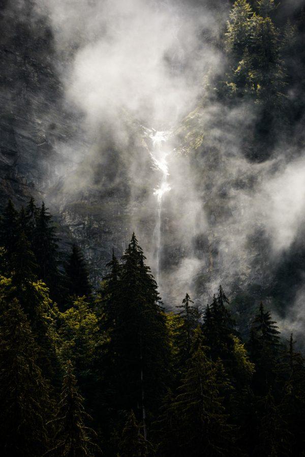 cascade du lac de Montriond