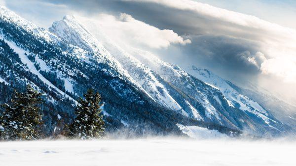 Tempête de neige dans le Vercors