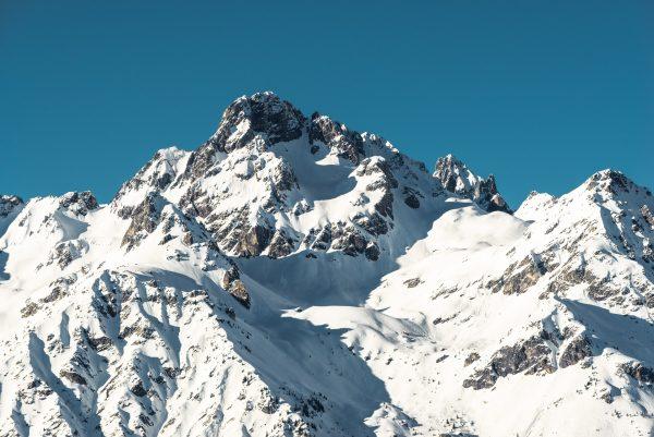 sommet Grande Lance d'Allemont en hiver